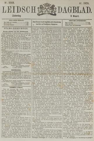 Leidsch Dagblad 1878-03-09