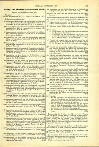 Handelingen van de Raad 1930-09-02