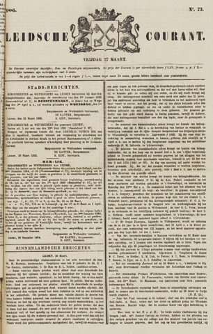 Leydse Courant 1885-03-27
