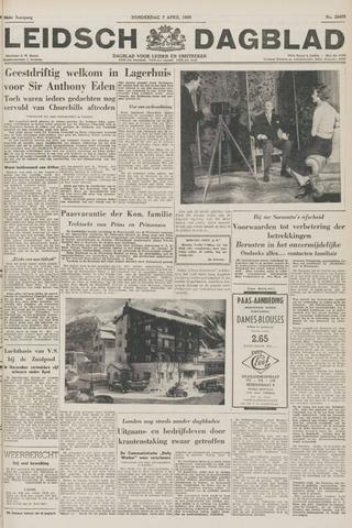 Leidsch Dagblad 1955-04-07