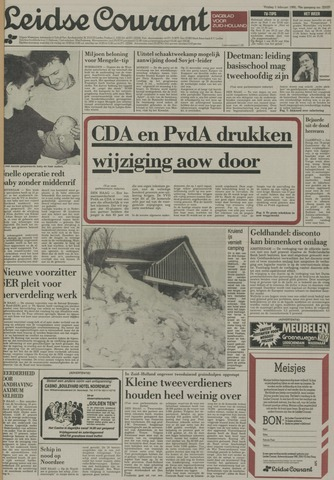 Leidse Courant 1985-02-01