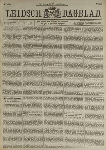 Leidsch Dagblad 1896-11-13