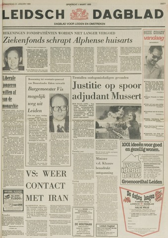 Leidsch Dagblad 1980-01-31
