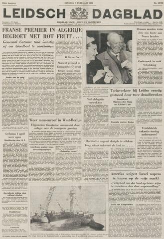 Leidsch Dagblad 1956-02-07