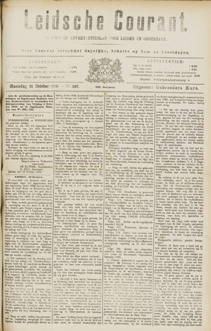 Leydse Courant 1889-10-21