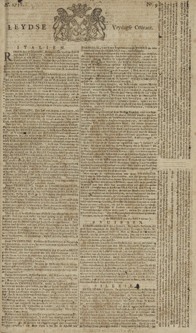 Leydse Courant 1758-01-20