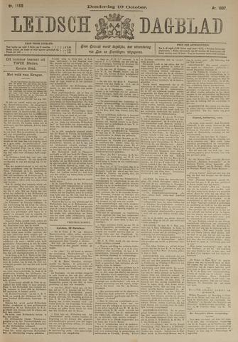 Leidsch Dagblad 1907-10-10