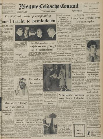 Nieuwe Leidsche Courant 1957-10-21