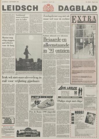 Leidsch Dagblad 1990-09-01