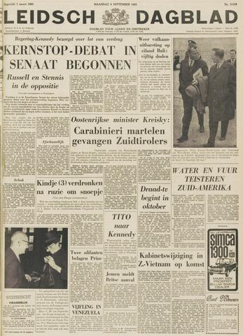 Leidsch Dagblad 1963-09-09