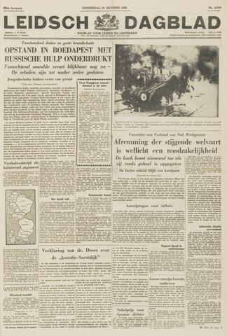 Leidsch Dagblad 1956-10-25