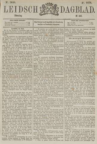Leidsch Dagblad 1878-07-16