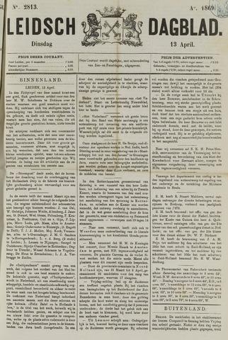 Leidsch Dagblad 1869-04-13