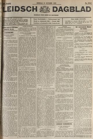 Leidsch Dagblad 1933-10-31