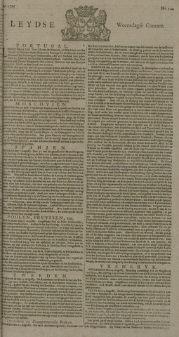 Leydse Courant 1725-08-29