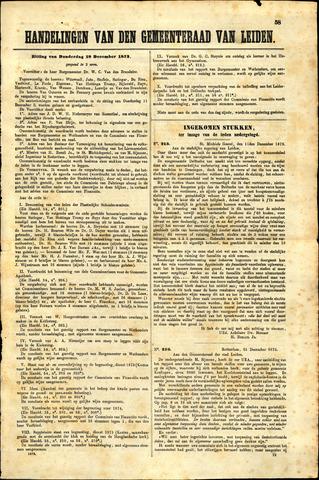 Handelingen van de Raad 1873-12-18
