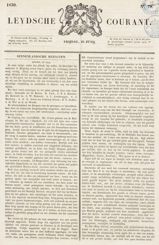 Leydse Courant 1850-06-28