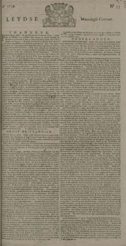 Leydse Courant 1739-05-04