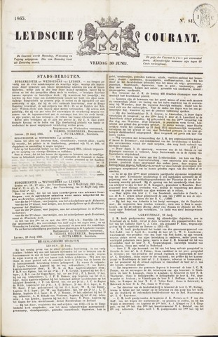 Leydse Courant 1865-06-30