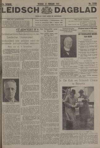 Leidsch Dagblad 1937-02-12