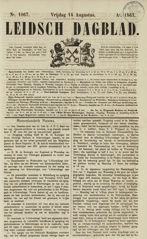 Leidsch Dagblad 1863-08-14