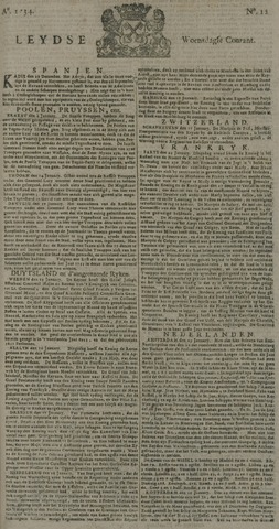 Leydse Courant 1734-01-27