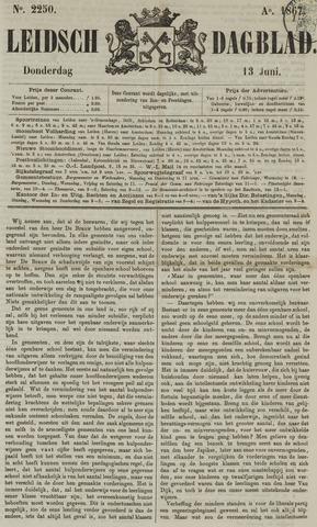 Leidsch Dagblad 1867-06-13