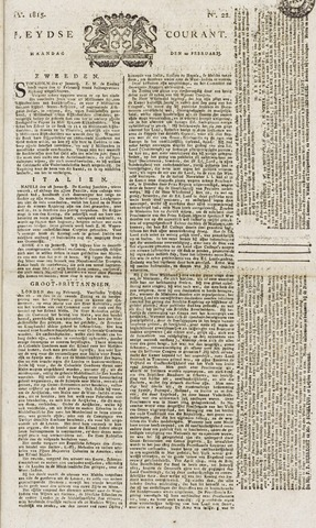 Leydse Courant 1815-02-20
