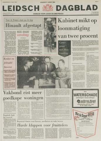 Leidsch Dagblad 1980-07-10