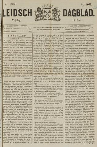 Leidsch Dagblad 1869-06-18
