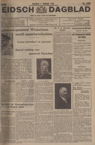 Leidsch Dagblad 1940-02-05