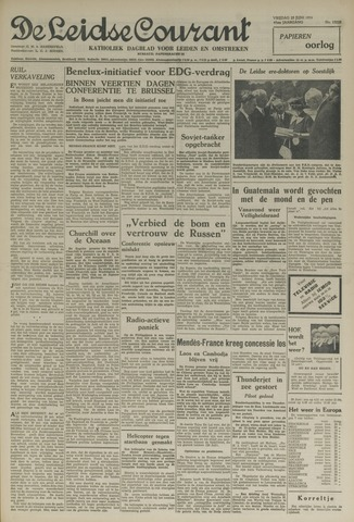 Leidse Courant 1954-06-25