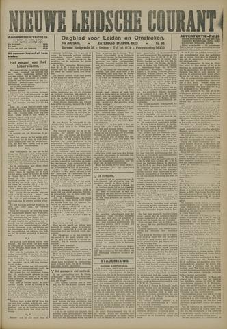 Nieuwe Leidsche Courant 1923-04-21