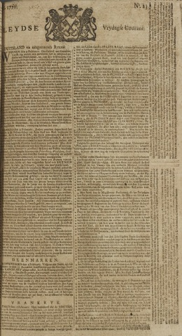 Leydse Courant 1771-02-22