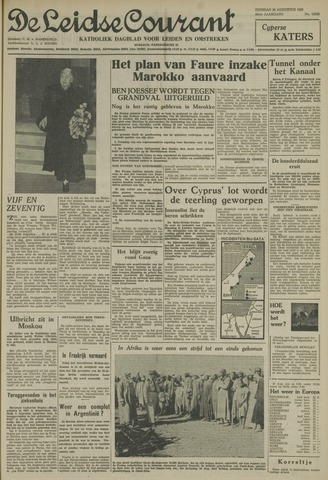 Leidse Courant 1955-08-30