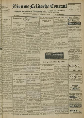 Nieuwe Leidsche Courant 1939-11-24