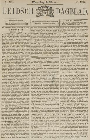 Leidsch Dagblad 1885-03-09
