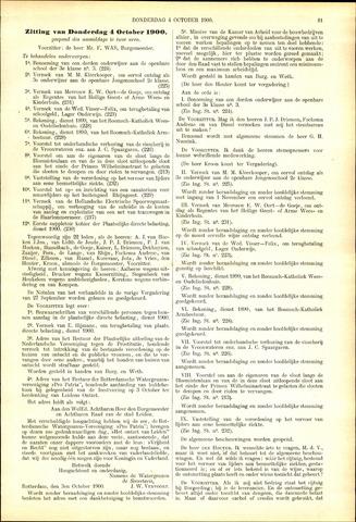 Handelingen van de Raad 1900-10-04