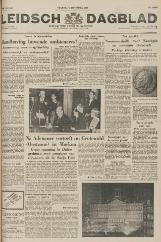 Leidsch Dagblad 1955-09-16