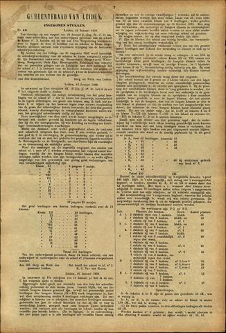 Handelingen van de Raad 1889-01-24