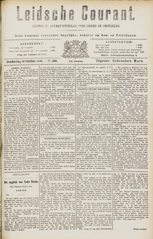 Leydse Courant 1889-10-10