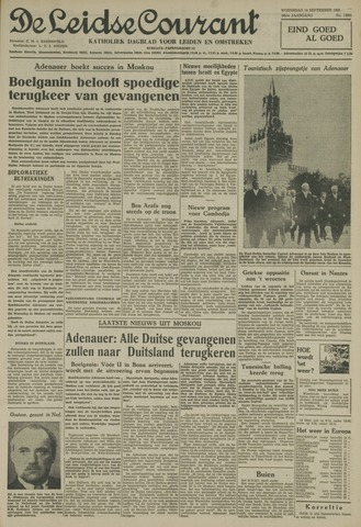Leidse Courant 1955-09-14