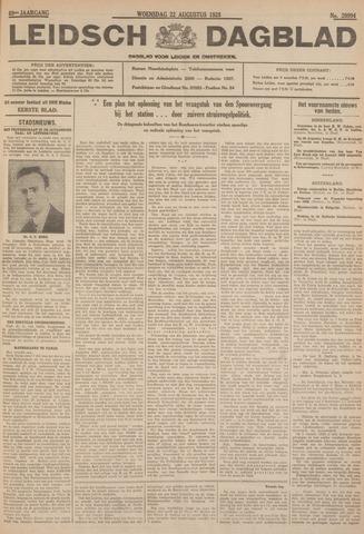 Leidsch Dagblad 1928-08-22