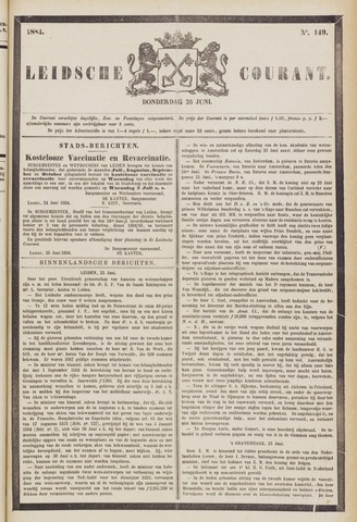 Leydse Courant 1884-06-26