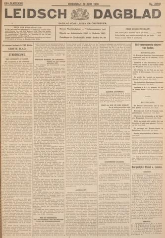 Leidsch Dagblad 1928-06-20