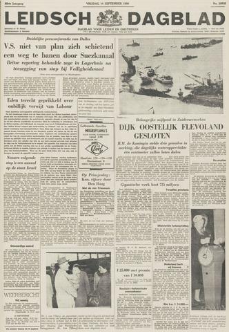 Leidsch Dagblad 1956-09-14