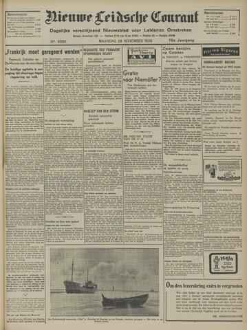 Nieuwe Leidsche Courant 1938-11-28