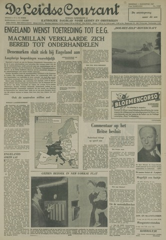 Leidse Courant 1961-08-01