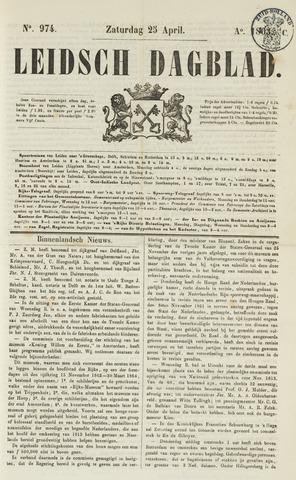 Leidsch Dagblad 1863-04-25