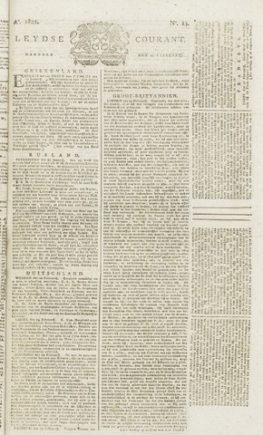Leydse Courant 1822-02-25